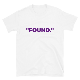 'FOUND' White T-Shirt