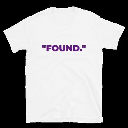 'FOUND' White T-Shirt
