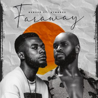 A photo of Menxee and Rymboxx for Faraway album cover